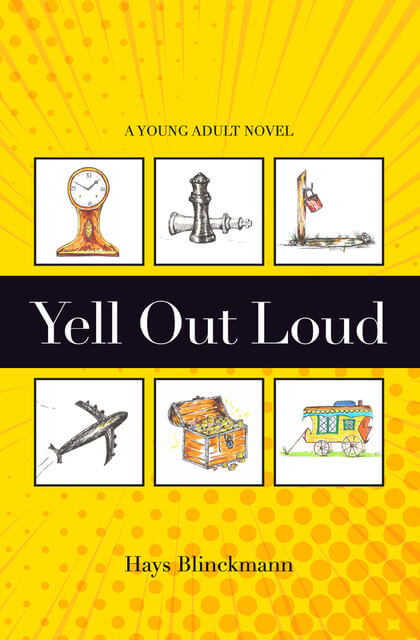 Hays Blinckmann Author Back Cover of Yell Out Loud Novel